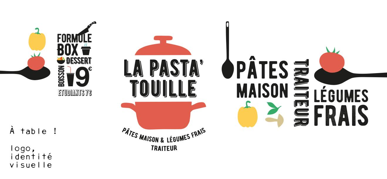 Charte graphique Pasta'touille